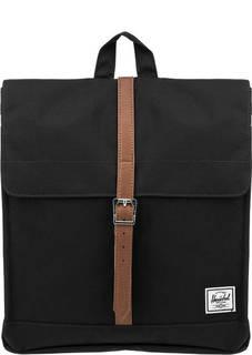 Рюкзак 10486-00001 black/tan synthetic leather Herschel