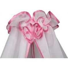 BamBola Балдахин для детской кроватки 150*300 Розовый 187