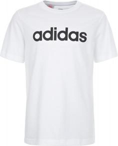 Футболка для мальчиков Adidas Essentials Linear Logo, размер 140
