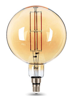 Лампочка Gauss Vintage Filament G200 E27 8W 780Lm 2400K Golden 153802008
