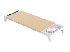 Зарядное устройство XtremeMac Wooden Stand with Wireless Charging XWH-WST-03