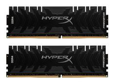 Модуль памяти HyperX Predator DDR4 DIMM 2666MHz PC4-21300 CL13 - 16Gb KIT (2x8Gb) HX426C13PB3K2/16 Kingston