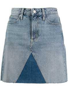 Calvin Klein Jeans короткая джинсовая юбка