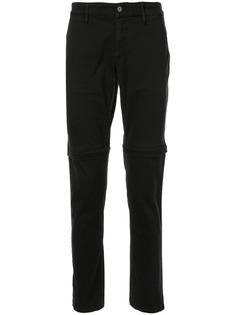 Kenzo брюки со складками на коленях