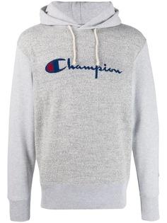 Champion трикотажное худи с логотипом