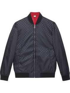 Gucci двусторонняя куртка-бомбер с логотипом GG