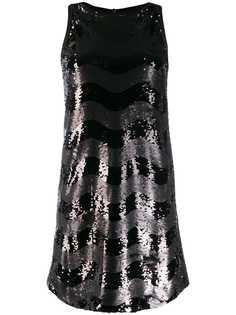Emporio Armani декорированное платье Abito без рукавов