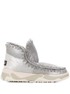 Mou ботинки с плетением