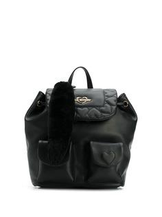 Love Moschino стеганый рюкзак