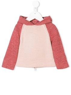 Oeuf вязаный свитер в двух тонах