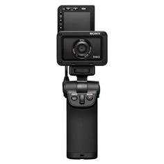 Фотоаппарат компактный Sony RX0 II с ручкой для съемки VCT-SGR1 (DSC-RX0M2G)