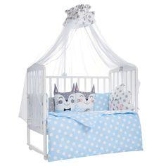 Комплект постельного белья Sweet Baby Gioia Blu 7 предметов наволочка 60 х 40 см, цвет: голубой