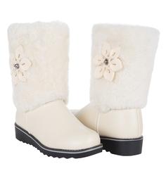 Унты Twins, цвет: белый