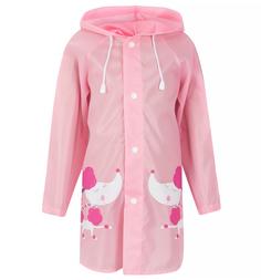 Дождевик Twins, цвет: розовый