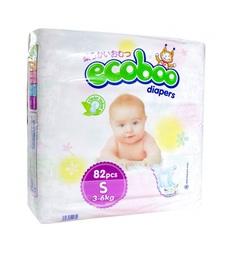 Подгузники Ecoboo (3-6 кг) шт.