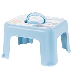 Табурет-подставка М-Пластика Панда, цвет: голубой
