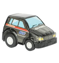 Машинка Maxi Car Джип, цвет: черный 4.5 см