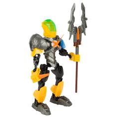 Трансформер Robotron Superforce Робот-конструктор, цвет: желтый/серый/черный 19 см