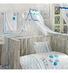 Kidboo Балдахин Happy Birthday 150 х 450 см, цвет: голубой