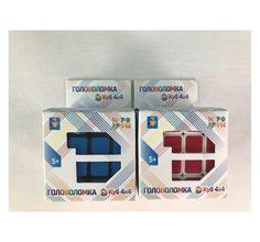 Головоломка 1Toy Куб 4*4 (6 см)