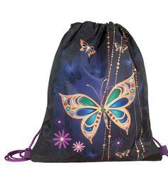 Сумка для сменной обуви Target детская Золотая бабочка