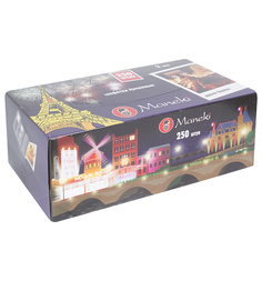 Салфетки бумажные Maneki Dream Аромат Европы , 250 шт