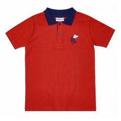 Футболка-поло Winkiki, цвет: красный