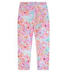 Леггинсы Бамбук Бабочки, цвет: мультиколор