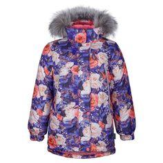 Куртка Kisu, цвет: фиолетовый/розовый