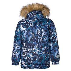 Куртка Kisu, цвет: синий/белый
