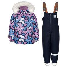 Комплект куртка/полукомбинезон Kisu, цвет: розовый/голубой