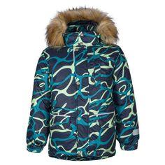 Куртка Kisu, цвет: зеленый/синий