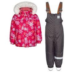 Комплект куртка/полукомбинезон Kisu, цвет: розовый/коралловый