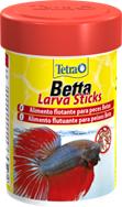 TetraBetta LarvaSticks корм в форме мотыля для петушков и других лабиринтовых рыб 100 мл