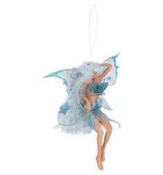 Декоративная подвеска Winter Wings Эльф в голубой одежде 16 см