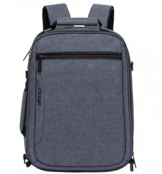Рюкзак Grizzly цвет: серый 27х43х15 см