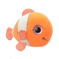 Мягкая игрушка Wild Planet Рыбка-клоун 15 см