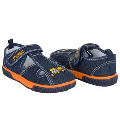 Туфли Mursu, цвет: оранжевый/синий