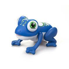 Интерактивная игрушка Silverlit Лягушка Глупи, цвет: синий
