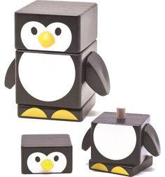 Пирамидка Бомик Пингвин, 8.7 см