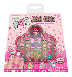 Набор для творчества Hot Focus Дизайн ногтей
