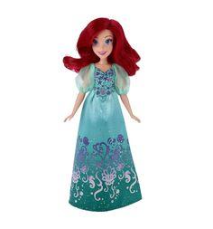 Кукла Disney Princess Королевский блеск Ариель 28 см