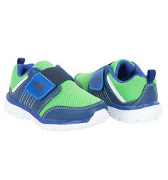Кроссовки Nordman, цвет: зеленый/синий
