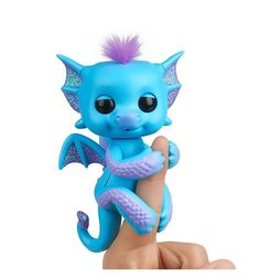 Интерактивная игрушка Fingerlings Дракончик Тара 12 см