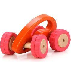 Машинка Lucy&Leo Роли-поли (зел/оранж) 22 см