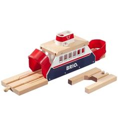 Паром Brio деревянной железной дороги