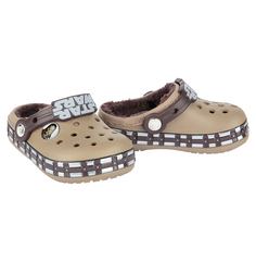 Сабо Crocs CB Star Wars Chewbacca Lined K Khaki, цвет: хаки