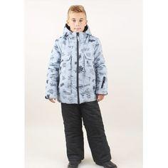 Комплект куртка/полукомбинезон Fobs, цвет: серый