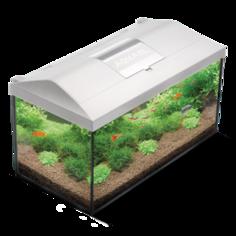 Аквариум Aquael LEDDY SET 40 с нижней рамкой (LT 1x6W Sunny), 25 л
