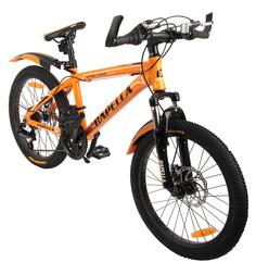 Двухколесный велосипед Capella G20A703, цвет: оранжевый